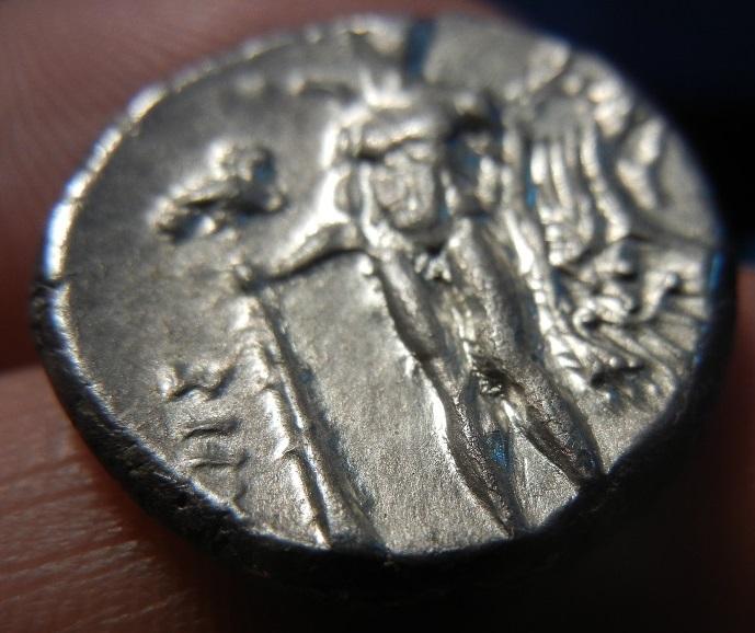 Didracma o Estátera Italiota. Heraclea (Región de Lucania). 281-278 A.C. SC. Tono_rev