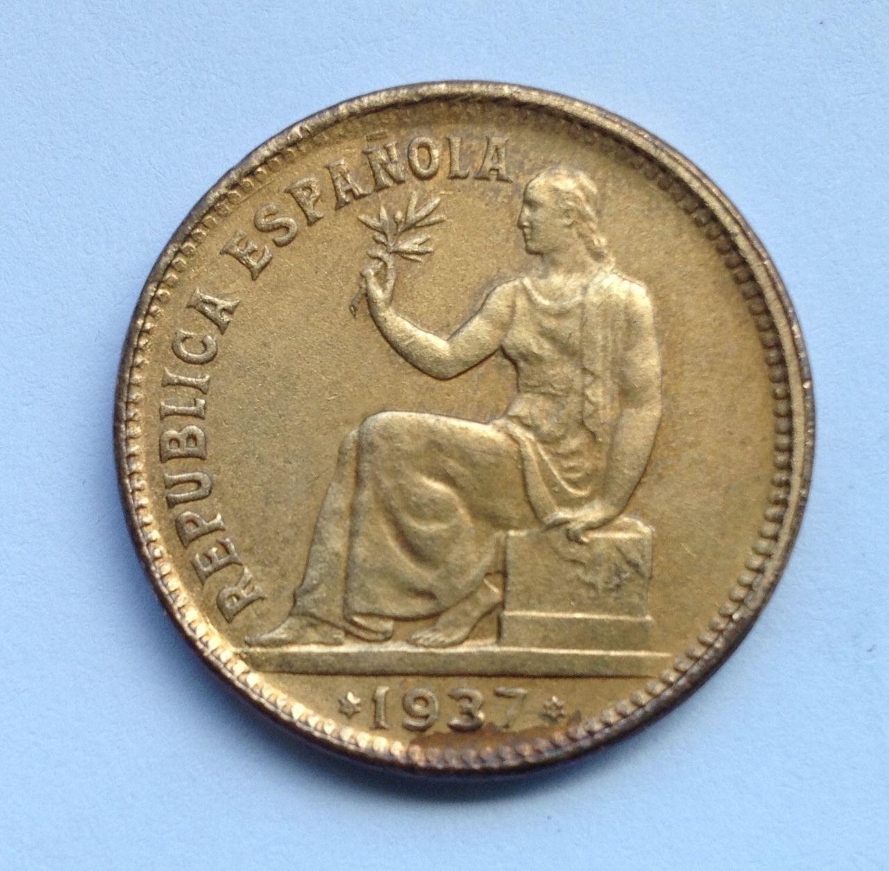 50 céntimos 1937 (3-4) República Española Image