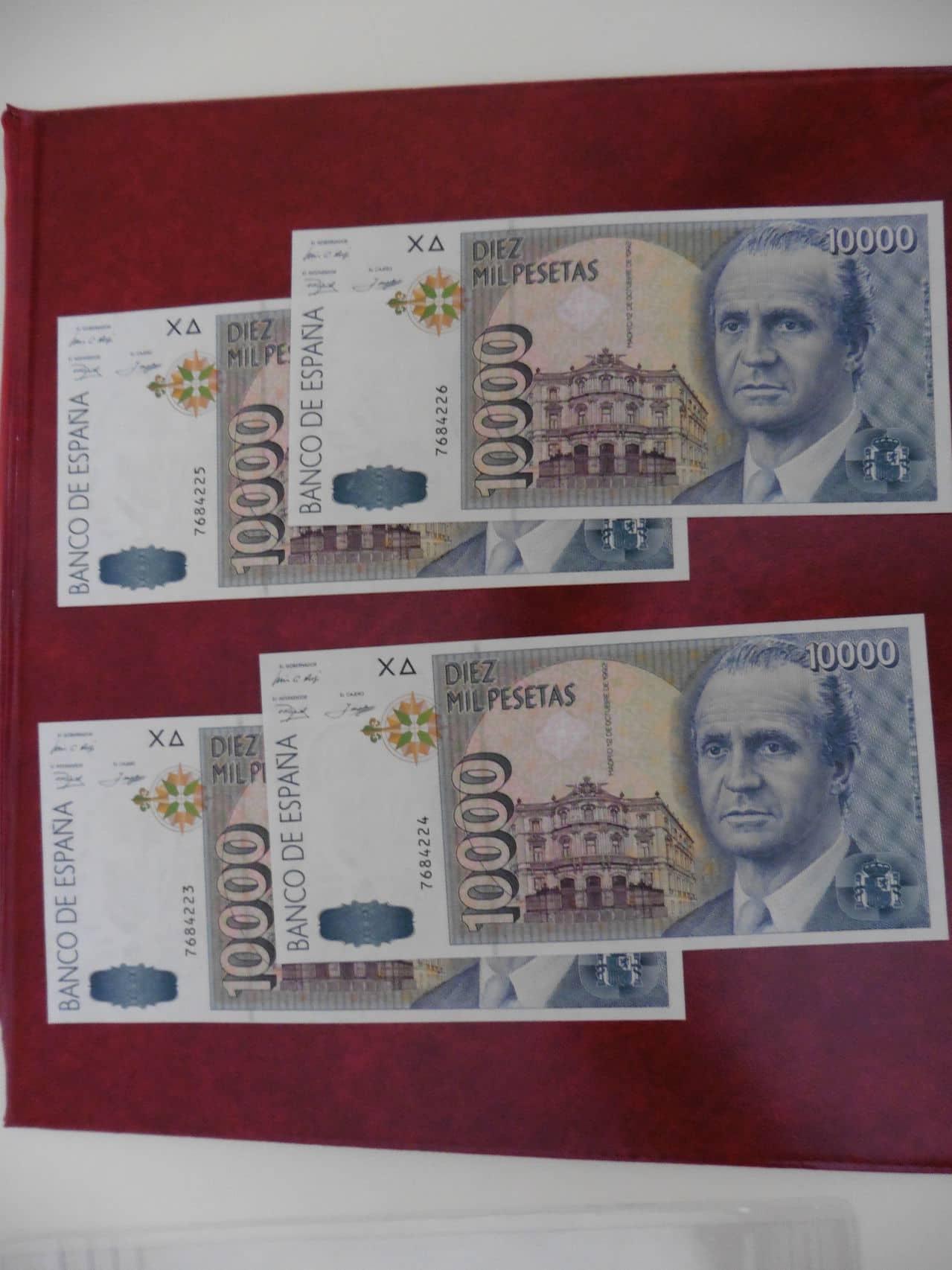 10000 Pesetas 1992 (Cuarteto)  10000ptas