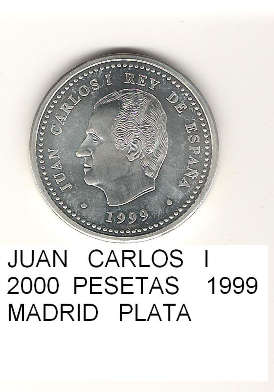 2000 Pesetas 1999. Juan Carlos I.   2000_PESETAS_10