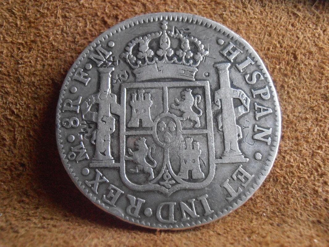8 Reales 1789/8. Carlos III. Méjico FM P5200004