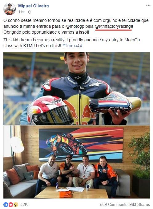 Miguel Oliveira no MotoGP em 2019 com a Tech3 KTM! Screenshot_5