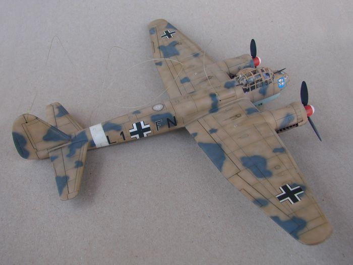 Junkers Ju-88A-4, Revell(rebuild), 1/72 DSC03192