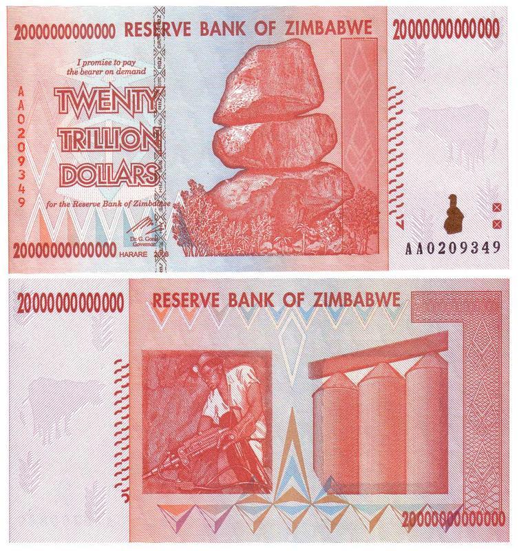 Billetes inflacionarios de Zimbabwe: aumento exponencial del precio - Página 2 Zimbabwe-20