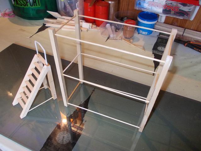 Diorama: Taller mecánico clásico, escala 1/10 DSCN6255