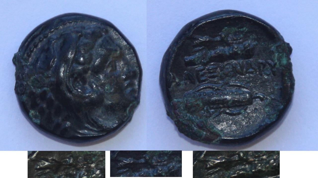 Moneda bronce  (AE 17) Alejandro Magno Alejandro