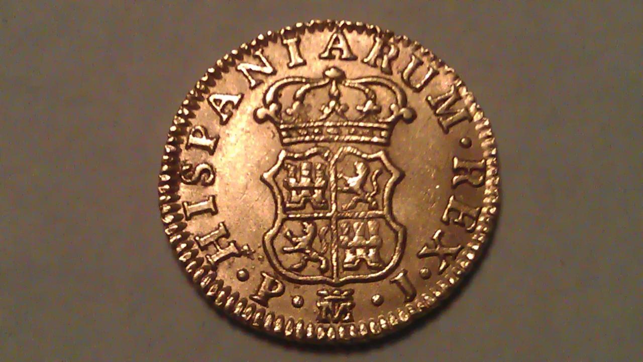 1/2 Escudo Carlos III 1765 Madrid. IMAG0884
