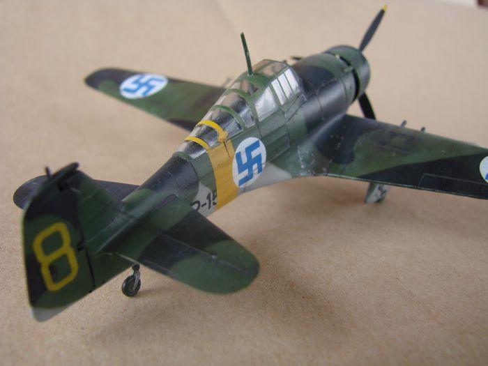 Finski Fokkeri D.XXI, Special Hobby, 1/72 DSC01492