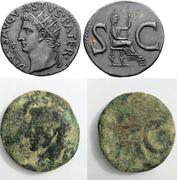 As de Augusto. S C. Livia? sedente a dcha. Roma. Image