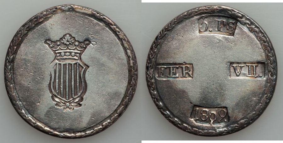 HERITAGE.Moneda Española 885371l