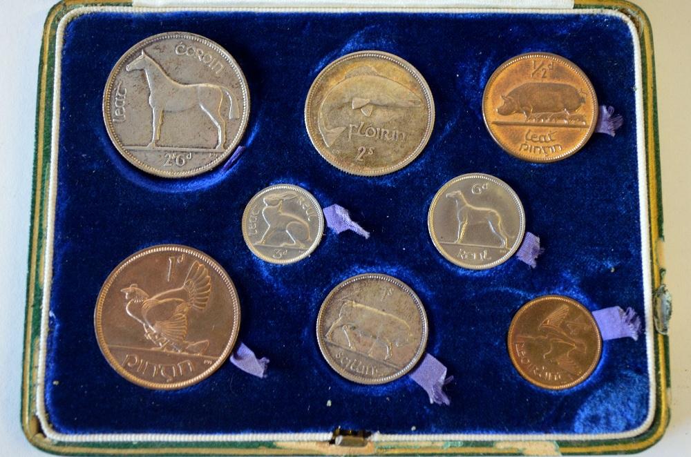 Estado Libre Irlandés (1928, primera serie de monedas) ¿EBC/SC/proof? Original3