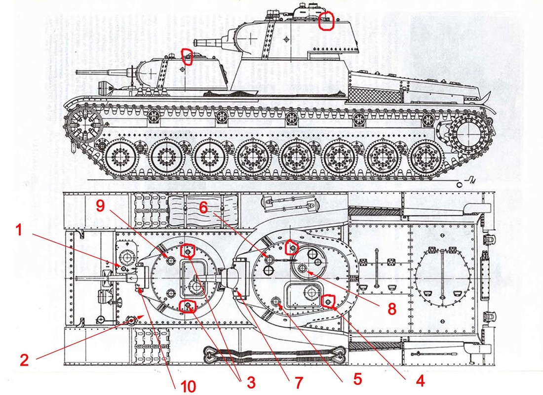 Т-100 Сталинский бронемонстр - Страница 3 1_210
