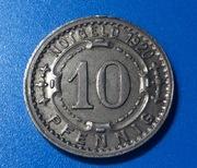 Alemania notgeld  stadt Menden  10 pfennig 1920 IMG_1177
