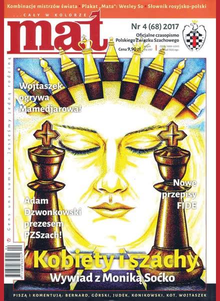 Chess Periodicals :: Czasopismo MAT (Polish Chess Magazine) Mat-68-2017-04
