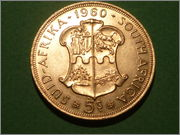 5 Shillings. SudAfrica. 1960   P1040031