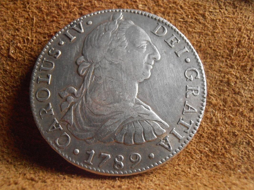 8 Reales 1789/8. Carlos III. Méjico FM P5210010