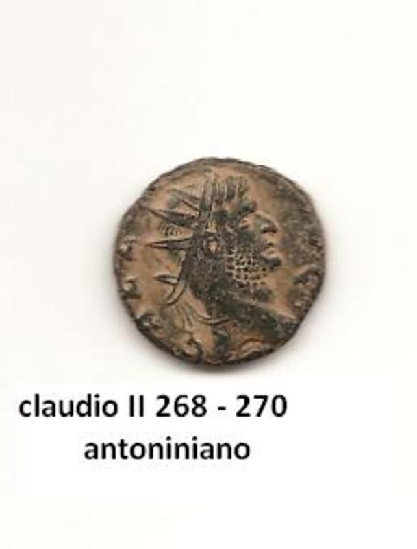 antoniniano de Claudio II año 268 - 270 Imperio_romano_42