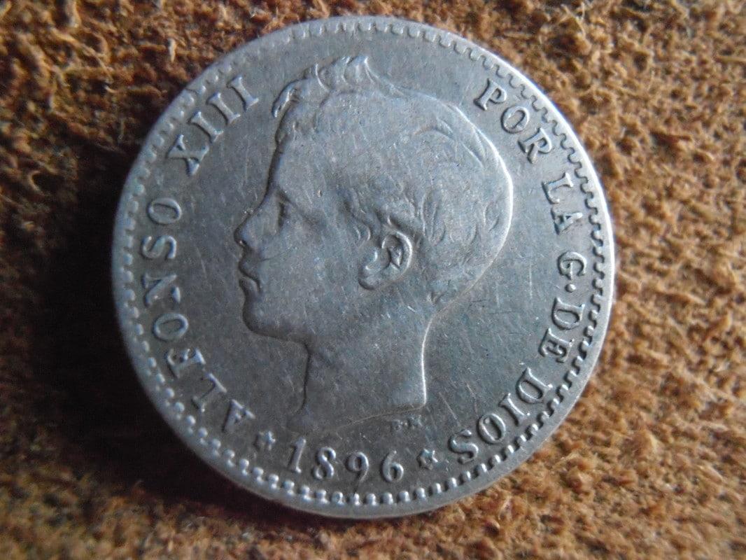 50 Céntimos 1896 (*9 *6). Alfonso XIII. PG V P3280017