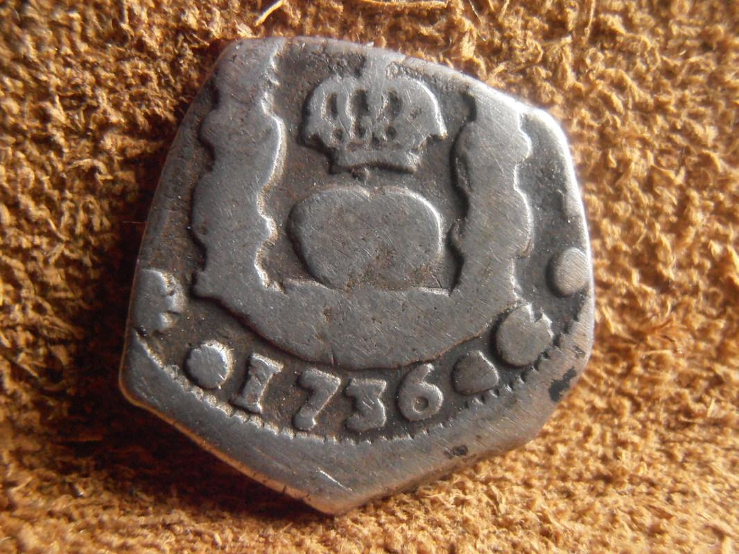 1 Real Felipe V ceca de Guatemala (1736) P3040024