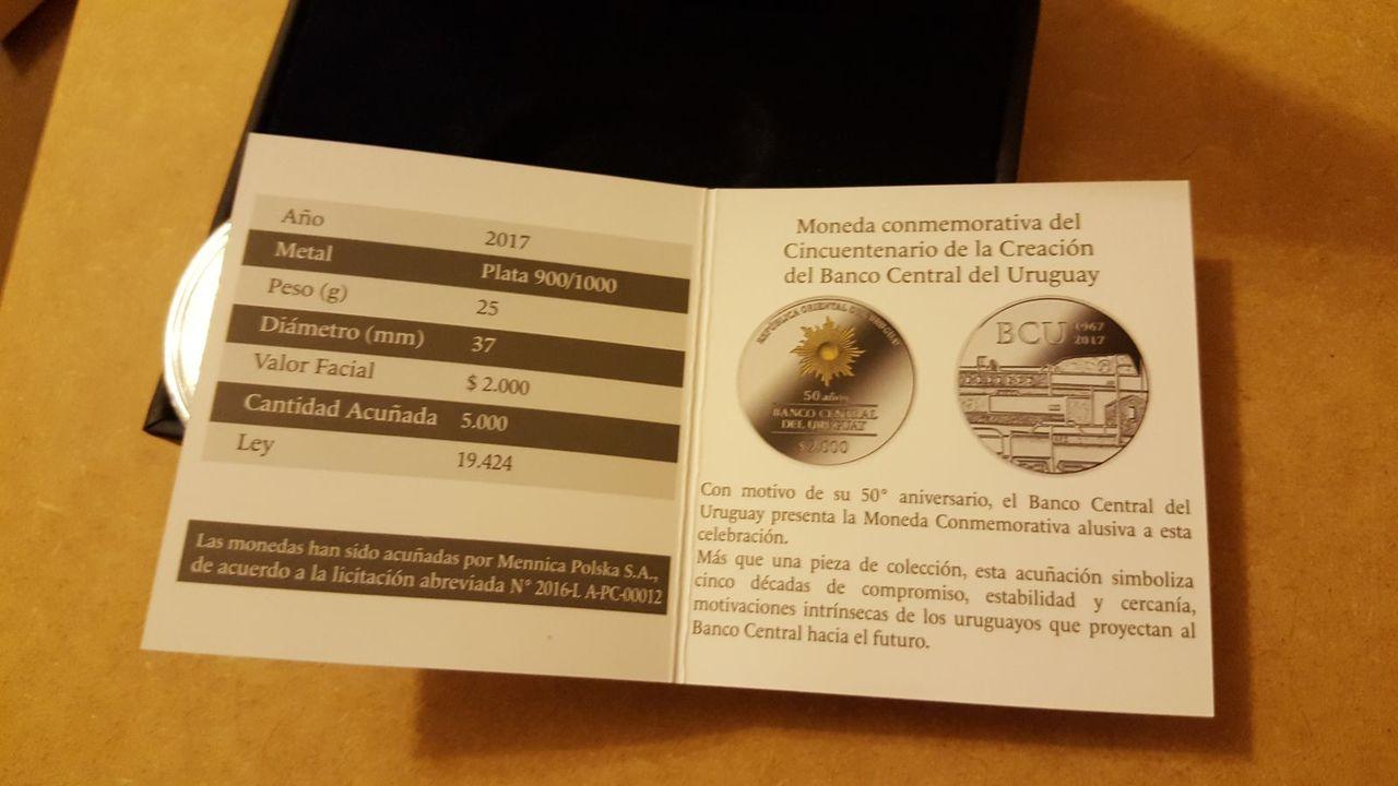 Monedas conmemorativas de Uruguay acuñadas en plata 1961 - Presente. - Página 2 20170706_220755