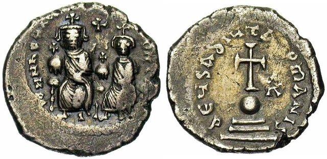 Denominación de las monedas de Bizancio. 1ª parte Hexagramma