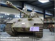 "Немецкий тяжелый танк PzKpfw V Ausf.А  ""Panther"", Sd.Kfz 171,  Musee des Blindes, Saumur, France Panther_A_Saumur_002"