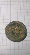 4 maravedis Felipe III con resellos. IMAG2533