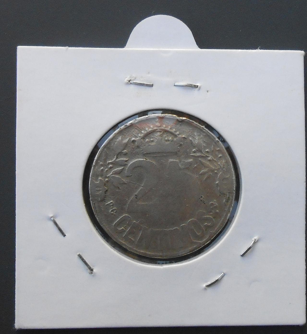 25 centimos Alfonso XIII, 1925 DSCN1481