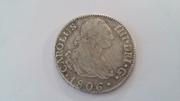 2 Reales Carlos IV 1806 Image