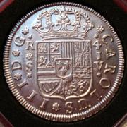 4 reales de Carlos III del año 1761. Ceca Sevilla. JV. Si_IMG_20161106_132108