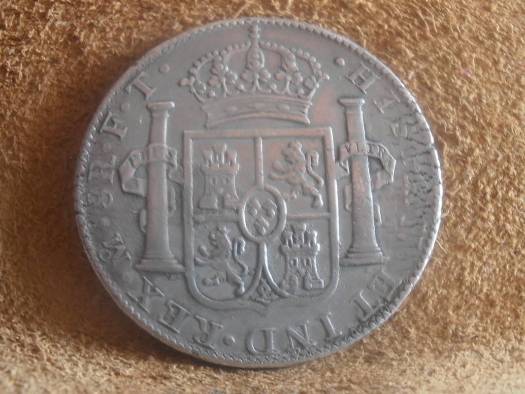 8 Reales Carlos IV 1803. Méjico P9020003