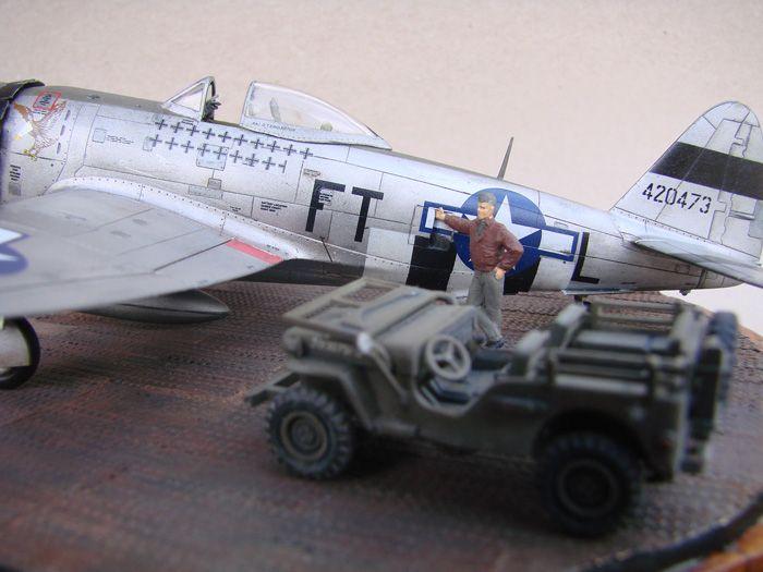 P-47D-30RE Thunderbolt, Revell, 1/72 DSC03176