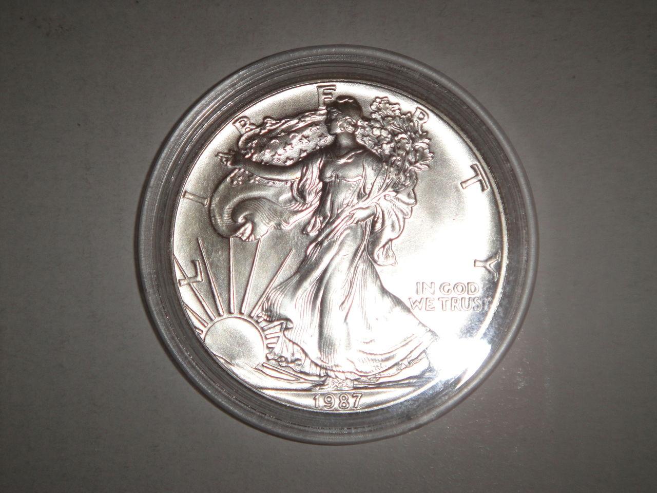 Ya comence mi coleccion de onzas de plata :) DSC02743