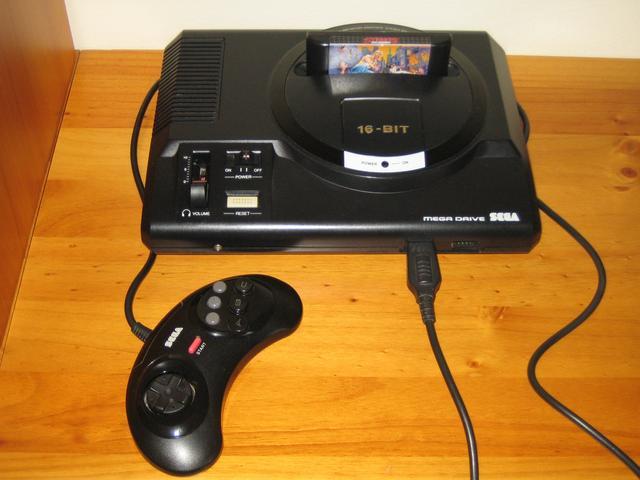 [Post Oficial] Nes, Master System, Mega Drive, Super Nintendo, Turbografx, Gameboy, Game Gear. - Página 3 SEGA_Mega_Drive