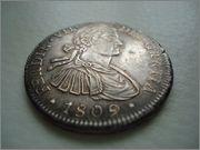 8 Reales 1809 Fernando VII Mexico ( busto imaginario ) Image