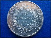 10 francos franceses 1965 Hercules 10_francos_1965_Hercules_rever