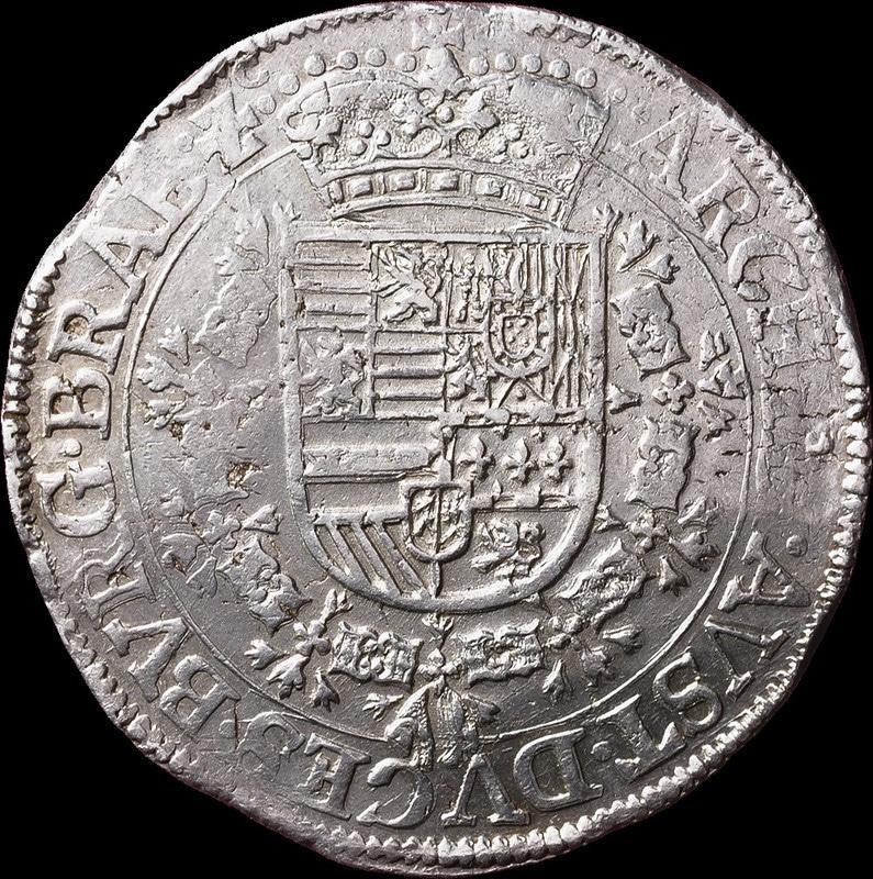 Patagón s.d. (1612 - 1621). Alberto e Isabel. Bruselas 1501_H0864
