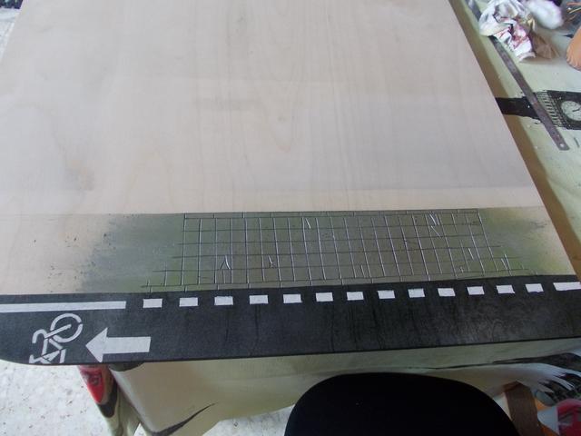 Diorama: Taller mecánico clásico, escala 1/10 DSCN6246