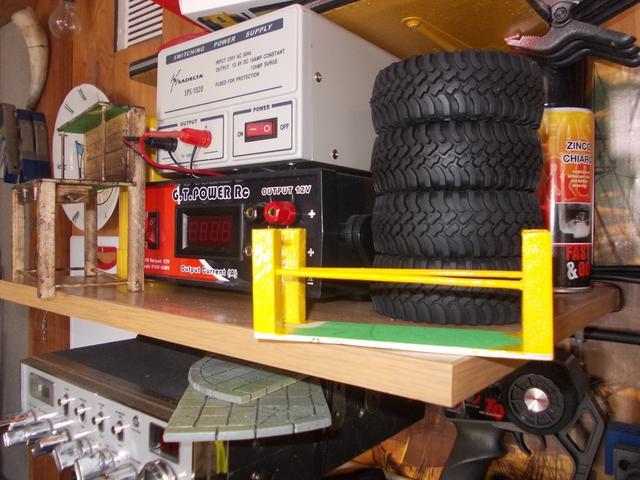 Diorama: Taller mecánico clásico, escala 1/10 DSCN6257