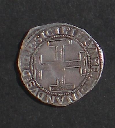 Coronato de Fernando I (1458-1494) de Nápoles [marca 'C'] DSCN3821