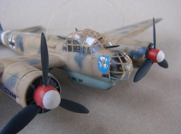 Junkers Ju-88A-4, Revell(rebuild), 1/72 DSC03193