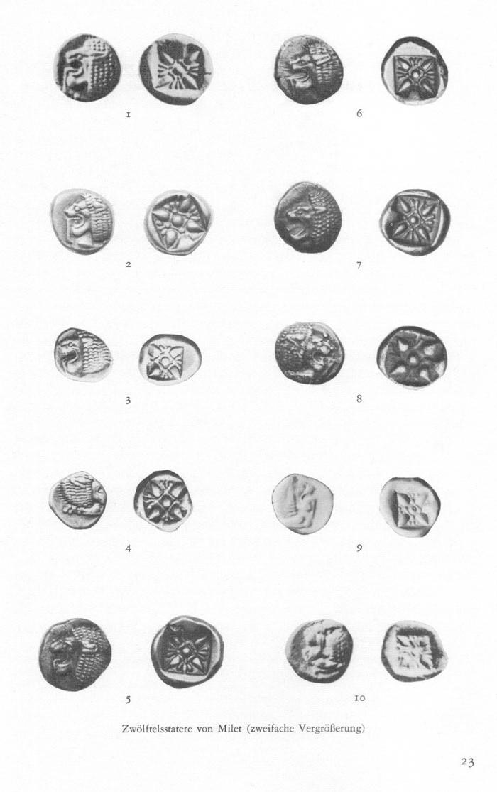 1/12ème de statère archaïque ionien de Milet  Pfeiler_plate