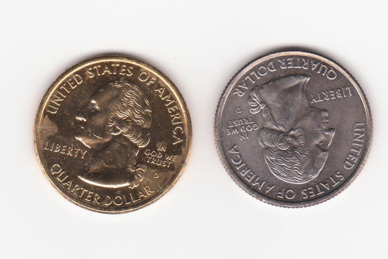 25 centavos kansas 2005, Estados Unidos (dorada) 25_centavos_alaska_004