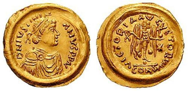 Denominación de las monedas de Bizancio. 1ª parte Tremis