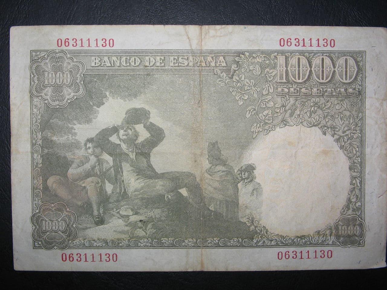 1000 Pesetas, 1949 004
