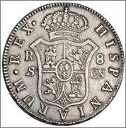 8 reales Fernando VII 1809 ceca Sevilla   Rsz