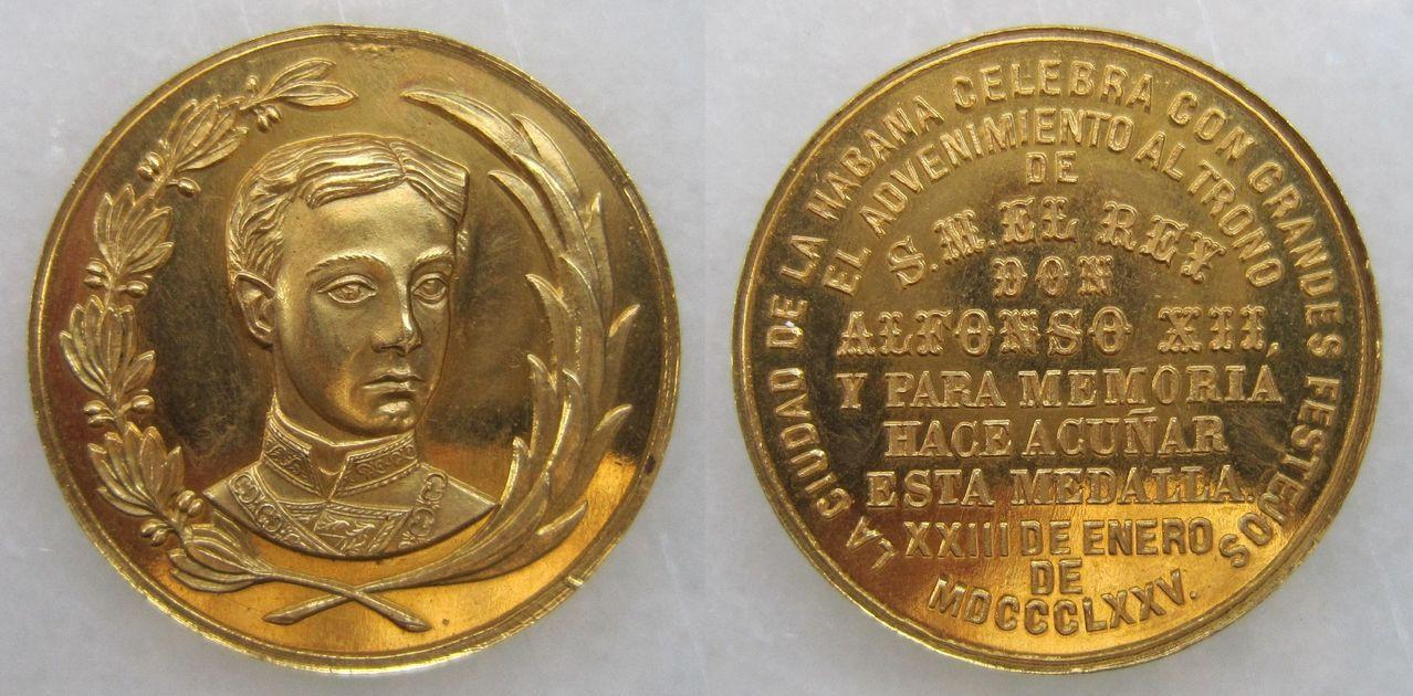 Medalla proclamación Alfonso XII Cuba 1875 Medalla_proclamaci_n_Alfonso_XII_Cuba_1875
