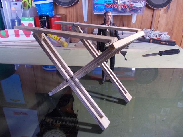 Diorama: Taller mecánico clásico, escala 1/10 DSCN6268