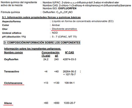 Tratamiento herbicida - Página 4 Oxyfluorfen