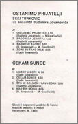 Seki Turkovic - Diskografija Seki_Turkovic_1983_kz